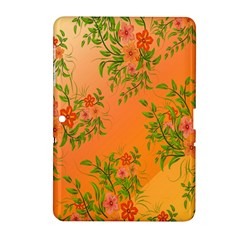 Flowers Background Backdrop Floral Samsung Galaxy Tab 2 (10 1 ) P5100 Hardshell Case