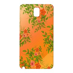 Flowers Background Backdrop Floral Samsung Galaxy Note 3 N9005 Hardshell Back Case