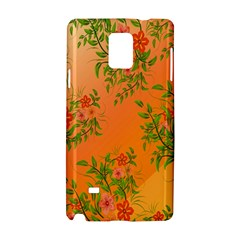 Flowers Background Backdrop Floral Samsung Galaxy Note 4 Hardshell Case