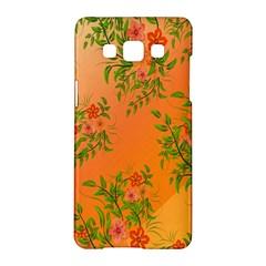 Flowers Background Backdrop Floral Samsung Galaxy A5 Hardshell Case