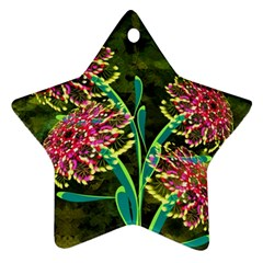 Flowers Abstract Decoration Ornament (Star)