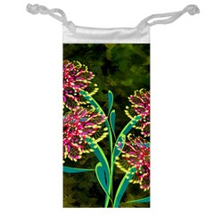 Flowers Abstract Decoration Jewelry Bag