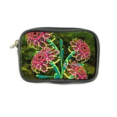 Flowers Abstract Decoration Coin Purse