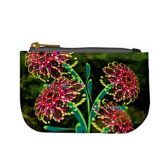 Flowers Abstract Decoration Mini Coin Purses