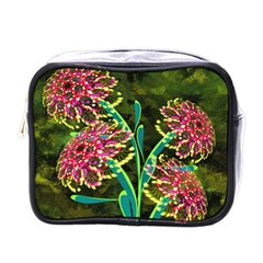 Flowers Abstract Decoration Mini Toiletries Bags