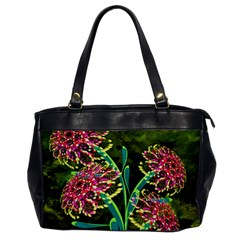 Flowers Abstract Decoration Office Handbags
