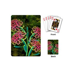 Flowers Abstract Decoration Playing Cards (Mini)