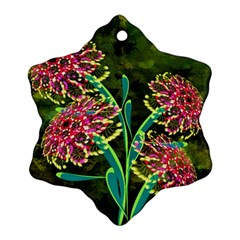 Flowers Abstract Decoration Ornament (Snowflake)