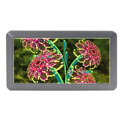 Flowers Abstract Decoration Memory Card Reader (Mini)