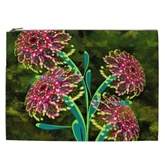 Flowers Abstract Decoration Cosmetic Bag (XXL)
