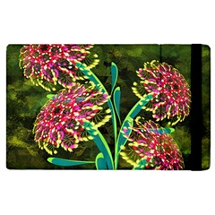 Flowers Abstract Decoration Apple Ipad 3/4 Flip Case