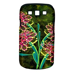 Flowers Abstract Decoration Samsung Galaxy S Iii Classic Hardshell Case (pc+silicone)