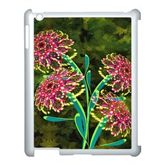 Flowers Abstract Decoration Apple Ipad 3/4 Case (white)