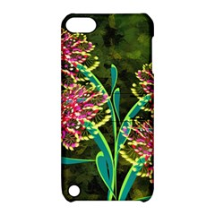 Flowers Abstract Decoration Apple Ipod Touch 5 Hardshell Case With Stand