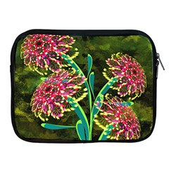 Flowers Abstract Decoration Apple iPad 2/3/4 Zipper Cases