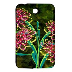 Flowers Abstract Decoration Samsung Galaxy Tab 3 (7 ) P3200 Hardshell Case