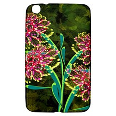 Flowers Abstract Decoration Samsung Galaxy Tab 3 (8 ) T3100 Hardshell Case