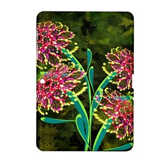 Flowers Abstract Decoration Samsung Galaxy Tab 2 (10 1 ) P5100 Hardshell Case
