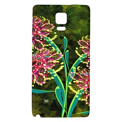 Flowers Abstract Decoration Galaxy Note 4 Back Case