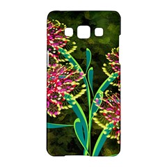 Flowers Abstract Decoration Samsung Galaxy A5 Hardshell Case
