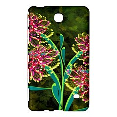 Flowers Abstract Decoration Samsung Galaxy Tab 4 (7 ) Hardshell Case