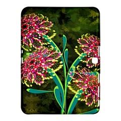 Flowers Abstract Decoration Samsung Galaxy Tab 4 (10.1 ) Hardshell Case