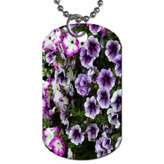 Flowers Blossom Bloom Plant Nature Dog Tag (two Sides)