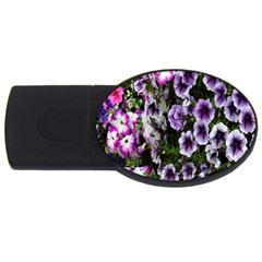 Flowers Blossom Bloom Plant Nature USB Flash Drive Oval (4 GB)