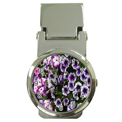 Flowers Blossom Bloom Plant Nature Money Clip Watches