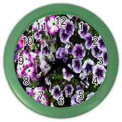 Flowers Blossom Bloom Plant Nature Color Wall Clocks