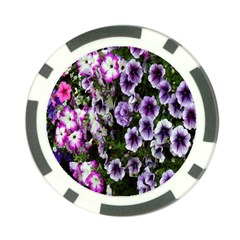Flowers Blossom Bloom Plant Nature Poker Chip Card Guard
