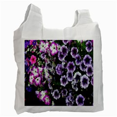 Flowers Blossom Bloom Plant Nature Recycle Bag (one Side)