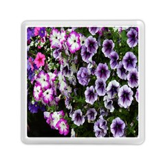 Flowers Blossom Bloom Plant Nature Memory Card Reader (Square)