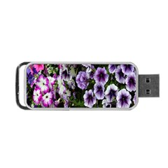 Flowers Blossom Bloom Plant Nature Portable Usb Flash (two Sides)