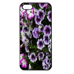 Flowers Blossom Bloom Plant Nature Apple Iphone 5 Seamless Case (black)