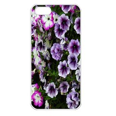 Flowers Blossom Bloom Plant Nature Apple iPhone 5 Seamless Case (White)
