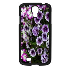 Flowers Blossom Bloom Plant Nature Samsung Galaxy S4 I9500/ I9505 Case (Black)