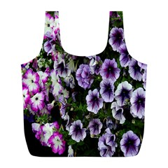 Flowers Blossom Bloom Plant Nature Full Print Recycle Bags (l)
