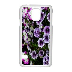 Flowers Blossom Bloom Plant Nature Samsung Galaxy S5 Case (White)