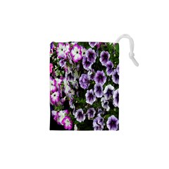 Flowers Blossom Bloom Plant Nature Drawstring Pouches (XS)