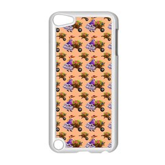Flowers Girl Barrow Wheel Barrow Apple Ipod Touch 5 Case (white)