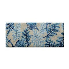Flowers Blue Patterns Fabric Cosmetic Storage Cases
