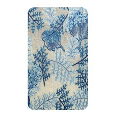 Flowers Blue Patterns Fabric Memory Card Reader