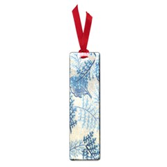 Flowers Blue Patterns Fabric Small Book Marks