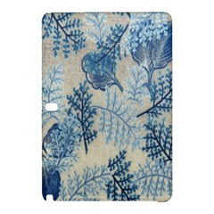 Flowers Blue Patterns Fabric Samsung Galaxy Tab Pro 12 2 Hardshell Case