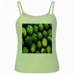 Food Summer Pattern Green Watermelon Green Spaghetti Tank
