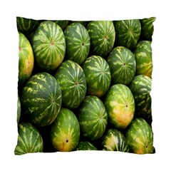 Food Summer Pattern Green Watermelon Standard Cushion Case (Two Sides)