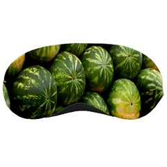 Food Summer Pattern Green Watermelon Sleeping Masks