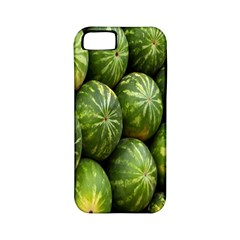Food Summer Pattern Green Watermelon Apple iPhone 5 Classic Hardshell Case (PC+Silicone)