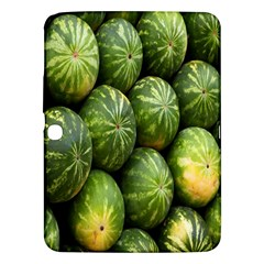 Food Summer Pattern Green Watermelon Samsung Galaxy Tab 3 (10 1 ) P5200 Hardshell Case